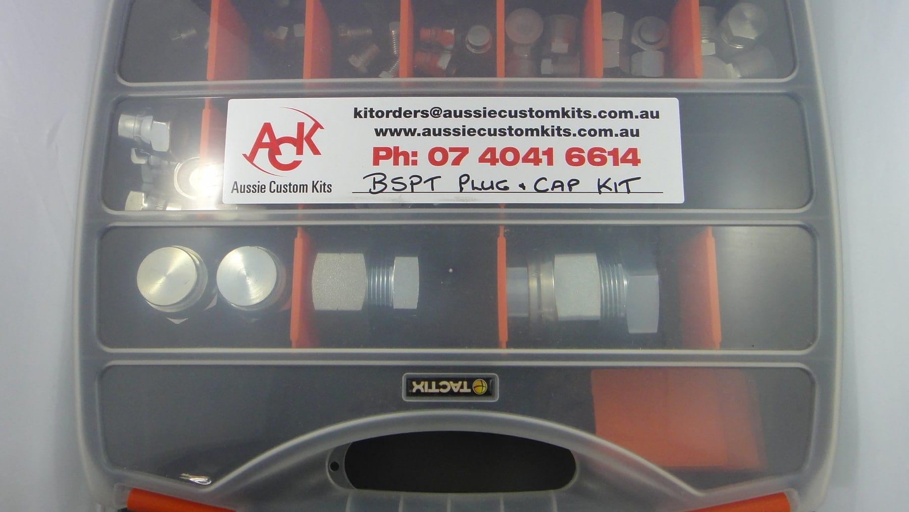 hydraulic plug  u0026 cap kit